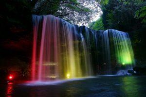 鍋ヶ滝イルミネーション
